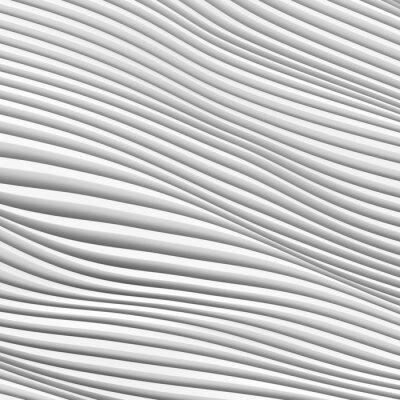 Fototapet Arkitektur Wave Bakgrund