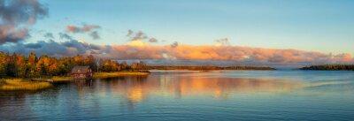 Fototapet Autumn Sunset