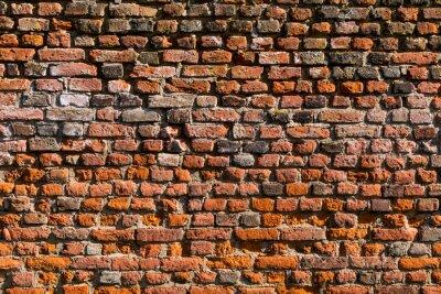 Fototapet Backstein Wand als Texture oder Hintergrund