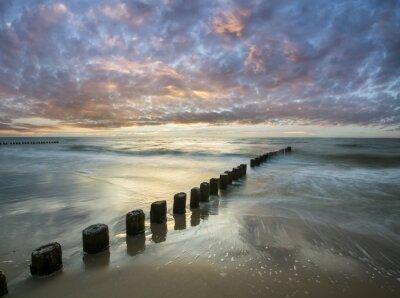 Fototapet Bałtycki zachód słońca