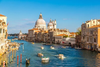 Fototapet Basilikan Santa Maria della Salute i Venedig