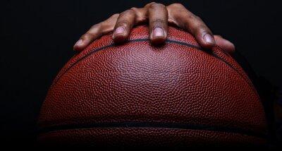 Fototapet Basket och Handgrip