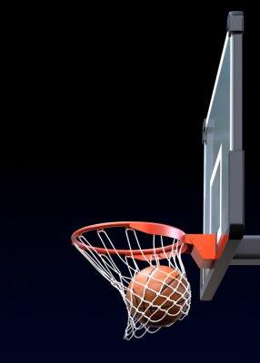 Fototapet basket skott