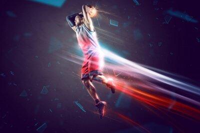 Fototapet Basketboll