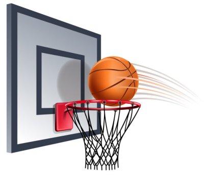 Fototapet basketkorg