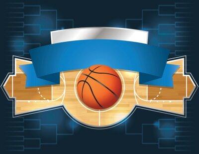 Fototapet basketturnering