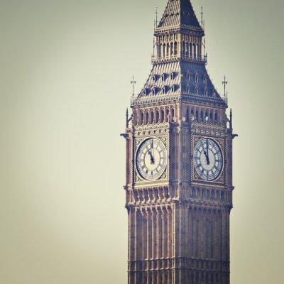 Fototapet Big Ben i Westminster, London, med Instagram effektfilter