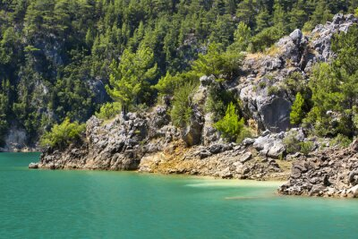 Fototapet Big Green Canyon Nature Reserve i Turkiet