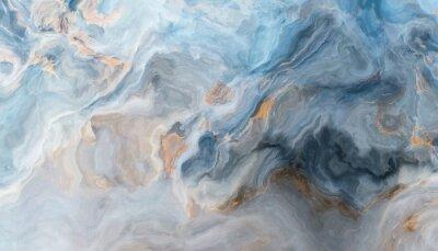 Fototapet Blå marmorbakgrund