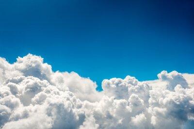 Fototapet Blå moln och himmel