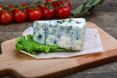 Fototapet Blå ost