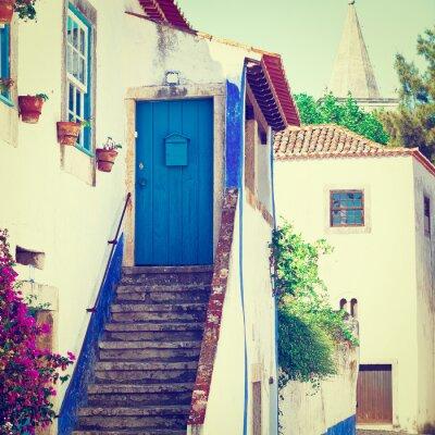 Fototapet Blue Door