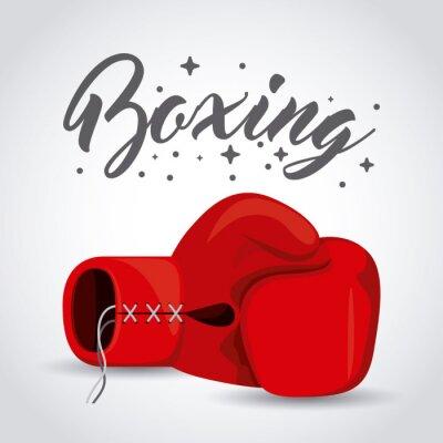 Fototapet boxning sportdesign
