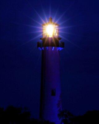 Fototapet Bright Light / fyren ligger i Jupiter, Florida