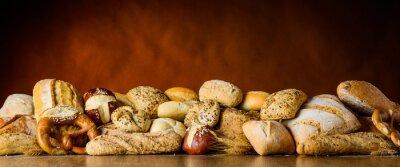 Fototapet bröd och bulle lugg