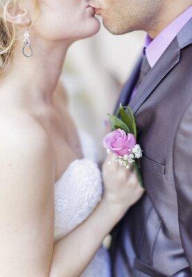 Fototapet bröllopsparet
