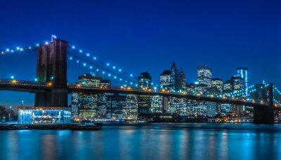 Fototapet Brooklyn Bridge NYC Skyline