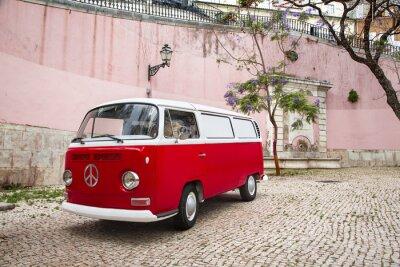 Fototapet Camping-Car autour du Monde