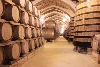 Fototapet cantina florio vino di Marsala