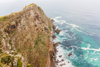 Fototapet Cape Point nära Godahoppsudden Sydafrika