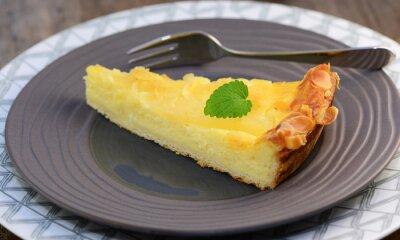 Fototapet cheesecake