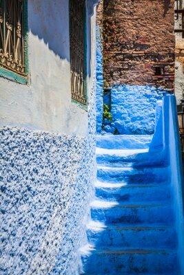 Fototapet Chefchaouen Old Medina, Marocko, Afrika