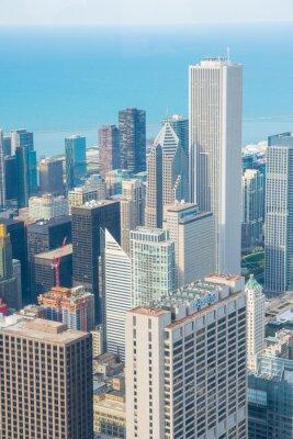 Fototapet Chicago horisont