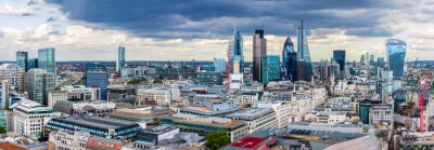 Fototapet City of London Panorama