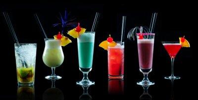 Fototapet Cocktail collage 1