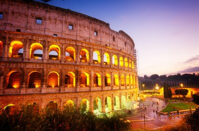 Fototapet Colosseum i Rom, Italien
