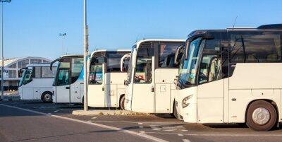 Fototapet Compagnie de buss
