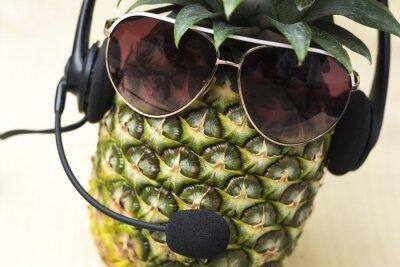 Fototapet Cool ananas