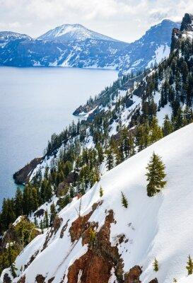 Fototapet Crater Lake National Park