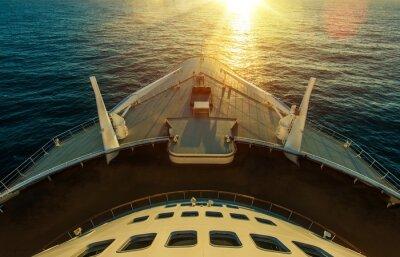 Fototapet Cruise Ship Ocean Crossing