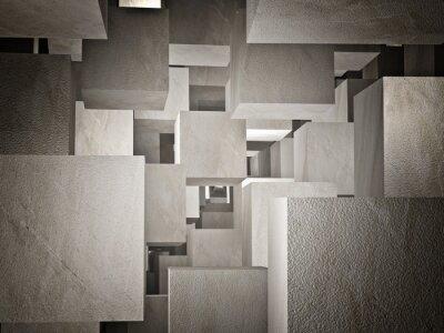 Fototapet Cubi abstrakt