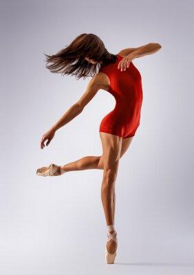 Fototapet dansare ballerina