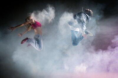 Fototapet danse moderne