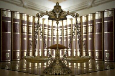 Fototapet Dekorativa Scales of Justice