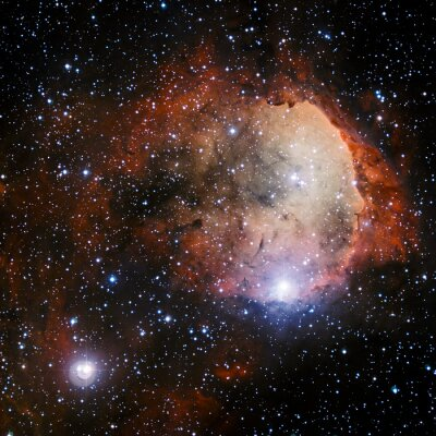 Fototapet Delar av denna bild som tillhandahålls av NASA