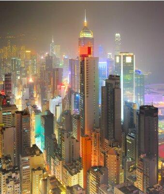 Fototapet Densitet Hongkong