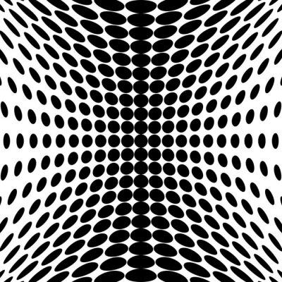 Fototapet Design monokroma dotsbakgrund