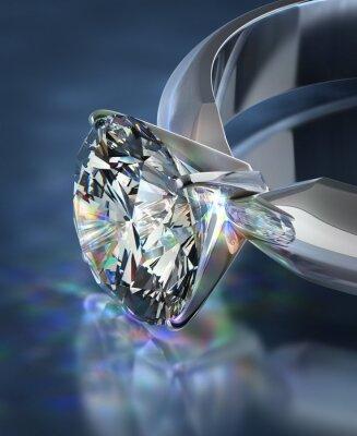 Fototapet diamantring