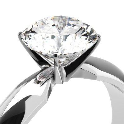 Fototapet Diamond Rings