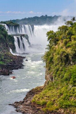 Fototapet Djävulsgapet, Iguazu Falls, Argentina