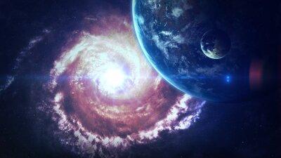 Fototapet Element tillhandahållits av NASA