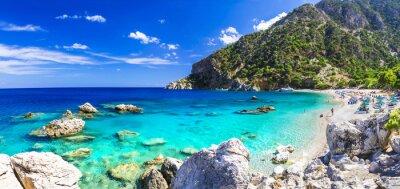 Fototapet en av de vackraste stränderna i Grekland - Apella, Karpathos