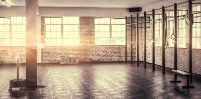 Fototapet Ett skott av ett gym