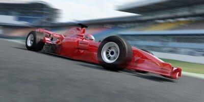 Fototapet f1 racer travet