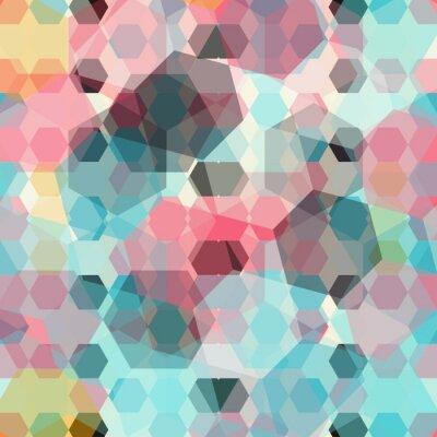 Fototapet färgad geometrisk bakgrund