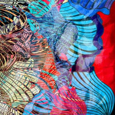 Fototapet färgrik abstrakt bakgrund